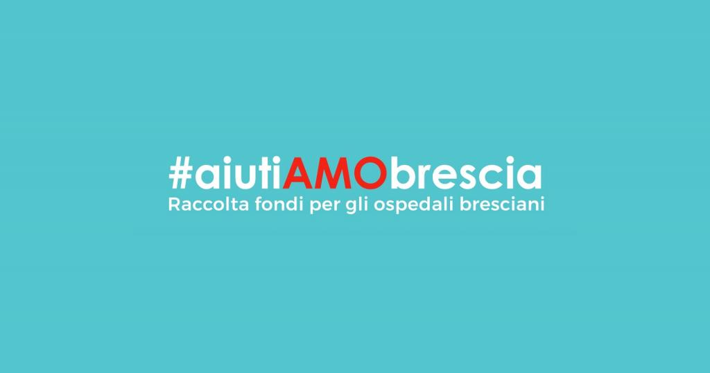 #aiuTIAMObrescia, raccolta fondi a favore degli ospedali bresciani